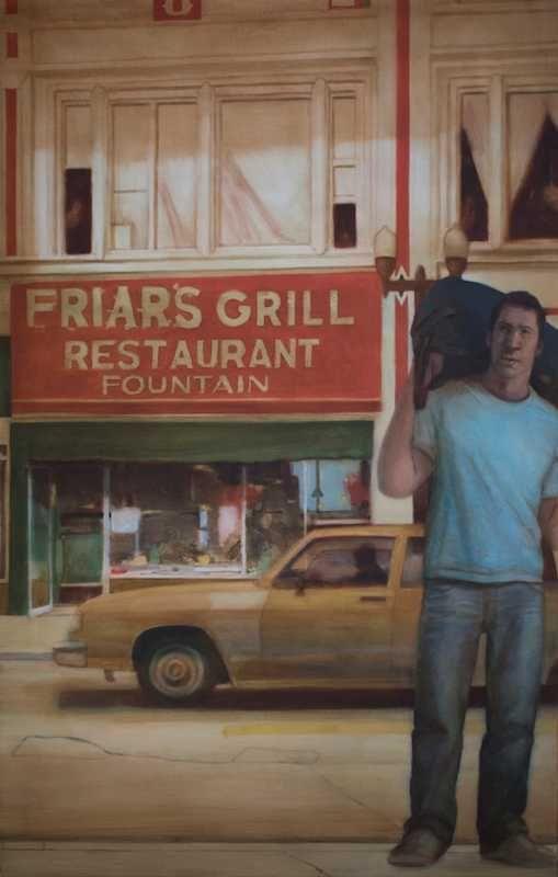 Ray Richardson Kirk Vidas painting peinture
