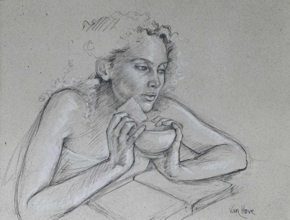 Francine Van Hove Le Petit Beurre 2016 dessin drawing
