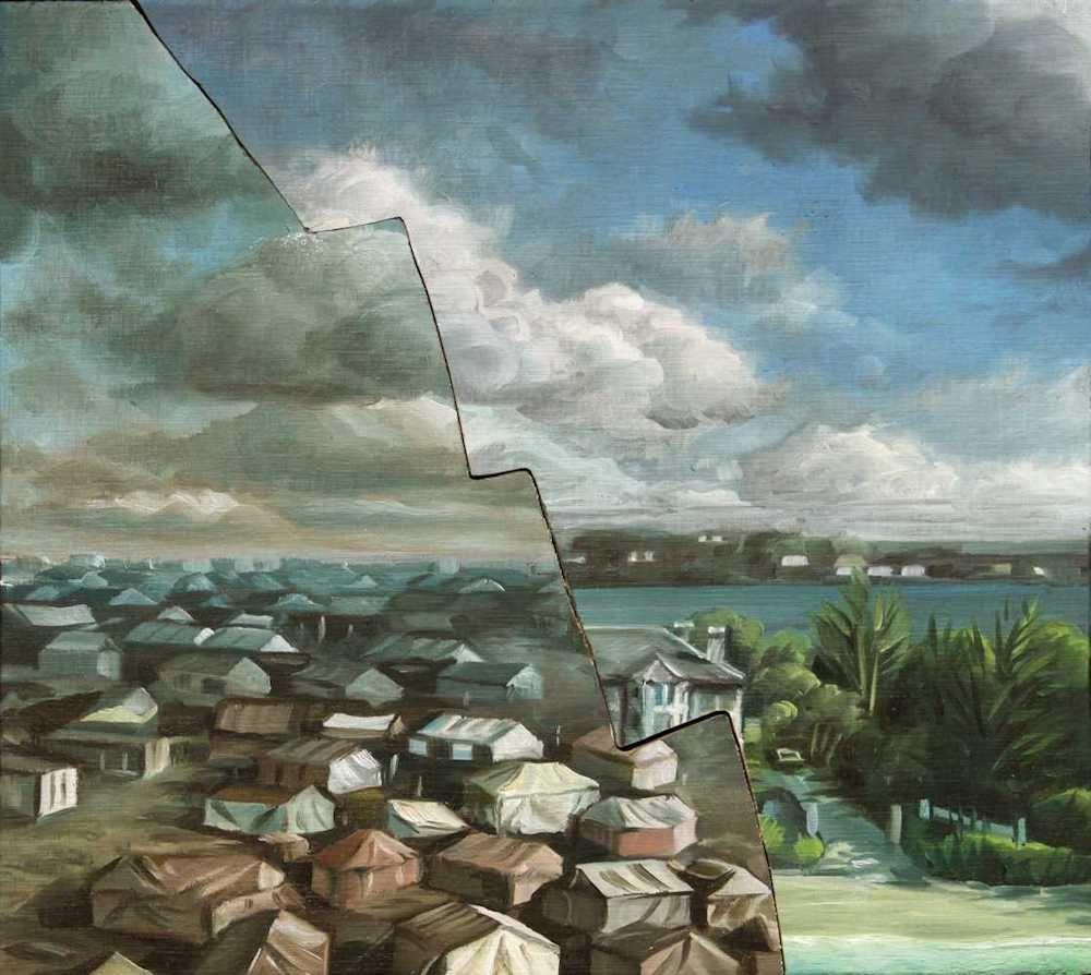 Demiak Escapism VIII 2017 painting peinture