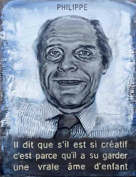 Pierre Lamalattie Philippe 2016 curriculum vitae painting peinture