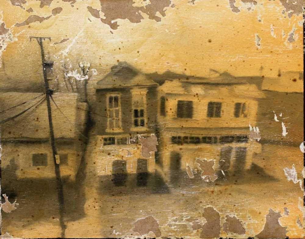 Demiak New Orleans 2005 2012 The Big Blow painting peinture