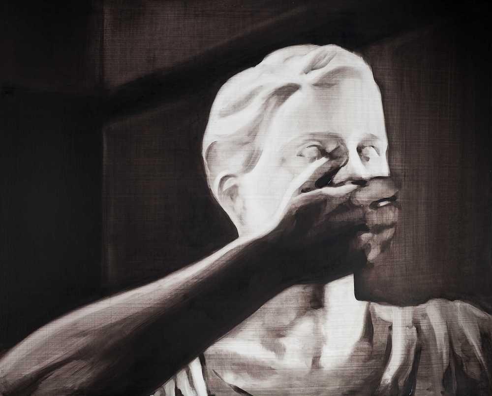 María Dávila Essaie 2015 Dramatis personae painting peinture