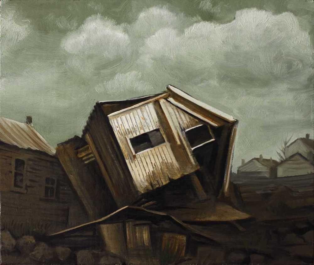 Demiak Memoirs of loss II 2015 painting peinture