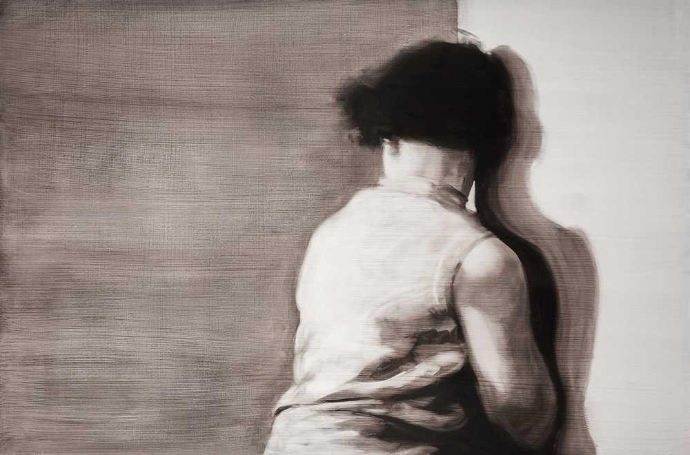 María Dávila Détournement 2015 Dramatis personae painting peinture