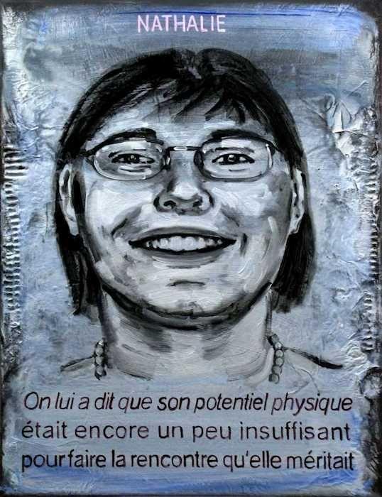 Pierre Lamalattie Nathalie 2011 curriculum vitae painting peinture