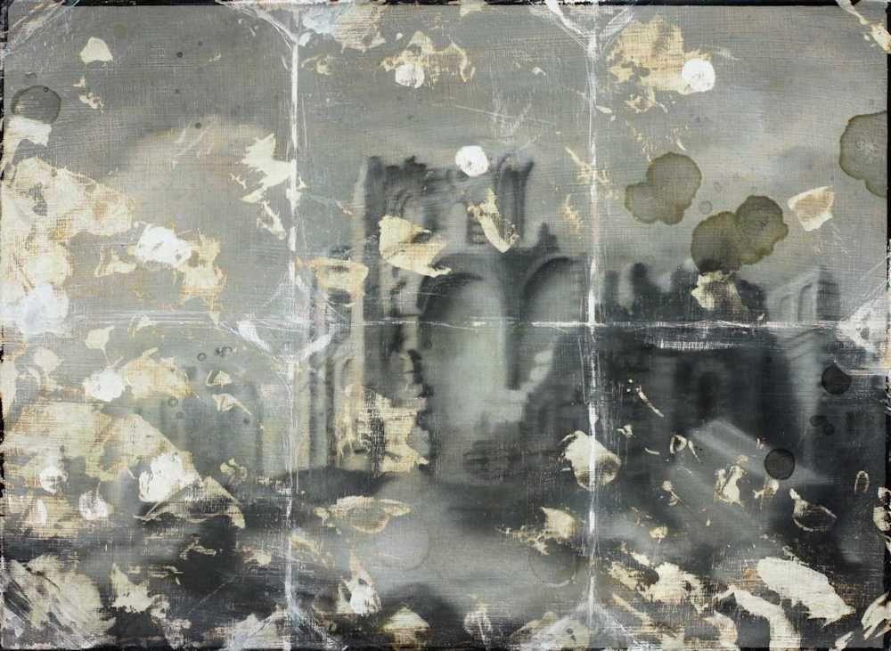 Demiak Lisbon Portugal 1755 2012 The Big Blow painting peinture