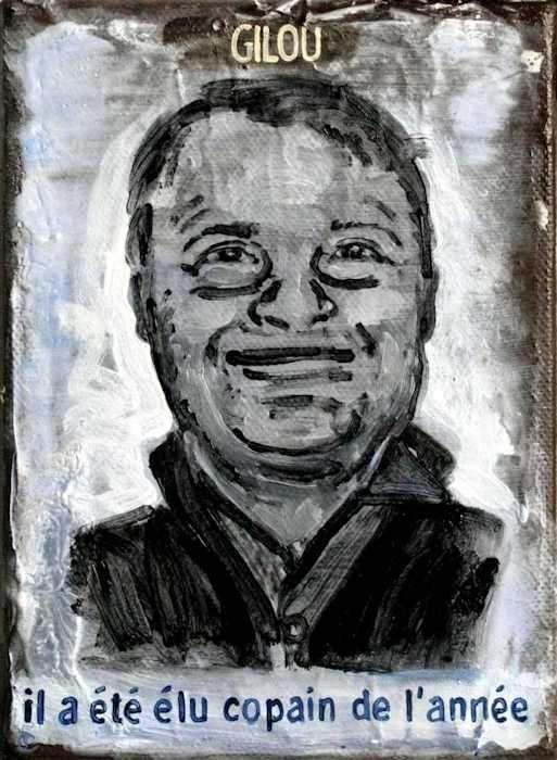 Pierre Lamalattie Gilou 2010 curriculum vitae painting peinture