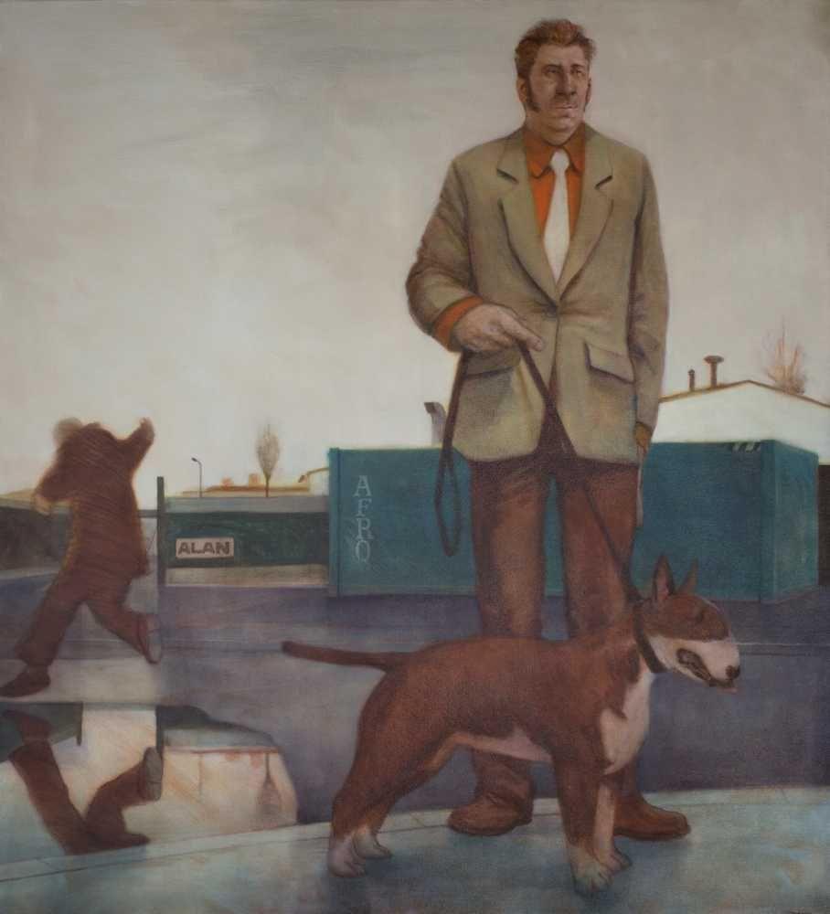 Ray Richardson The Poacher 2012 painting peinture