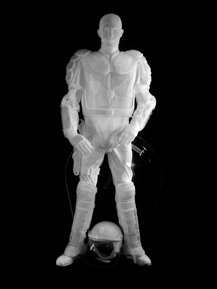 Angélique L'Archange CRS 2012 sculpture organdy organdi