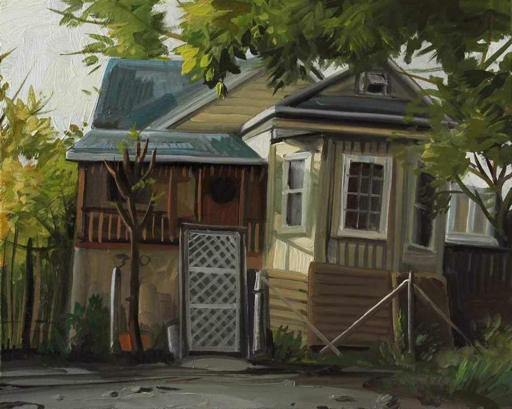 Demiak Memoirs of loss VI 2015 painting peinture