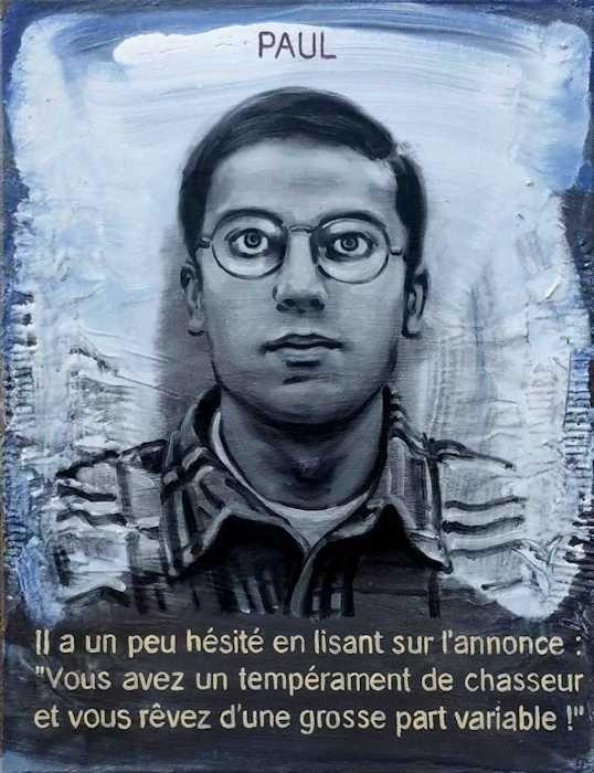 Pierre Lamalattie Paul 2016 curriculum vitae painting peinture