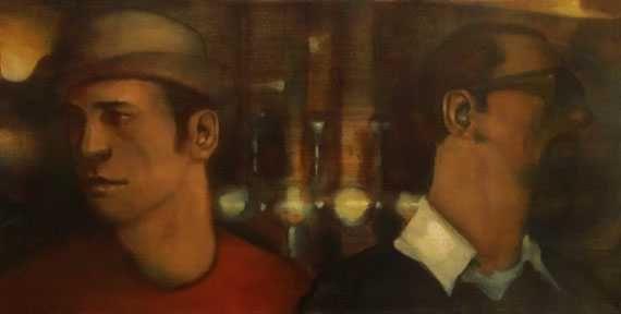 Ray Richardson The Free Trade painting peinture
