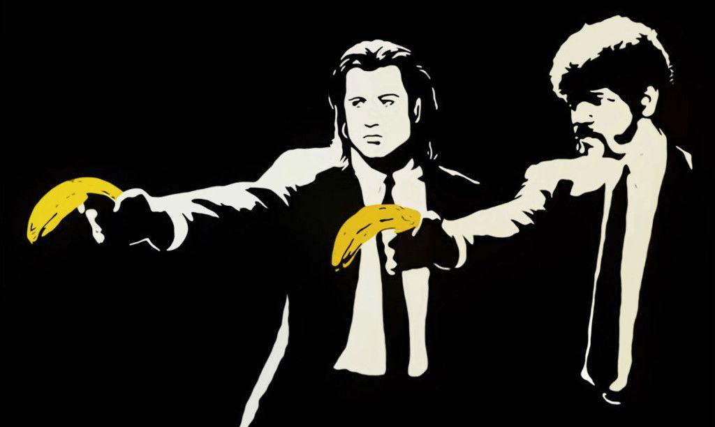 Banksy (b. 1974)  Pulp Fiction, 2004