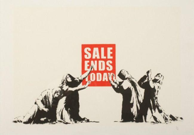 Banksy (b. 1974)  Sale Ends Today (V.2), 2017