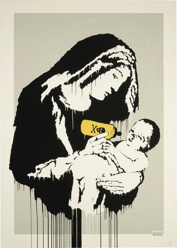 Banksy (b. 1974)  Toxic Mary, 2005