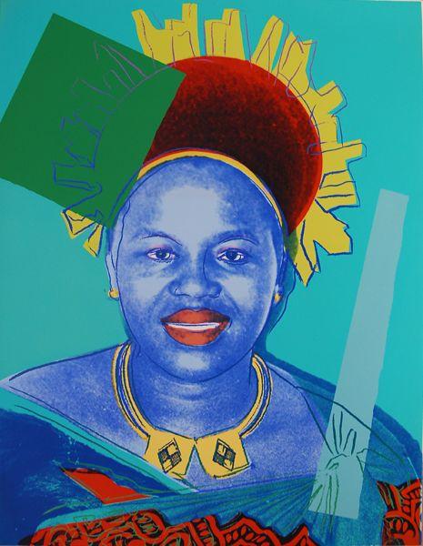 Reigning Queens-- Queen Ntombi Twala of Swaziland