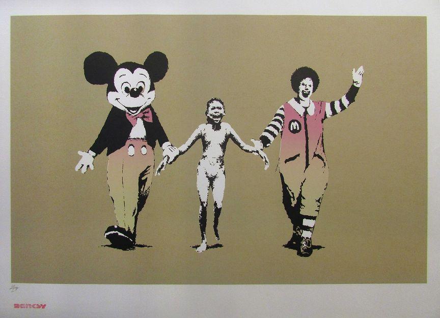Banksy (b. 1974)  Napalm, 2004