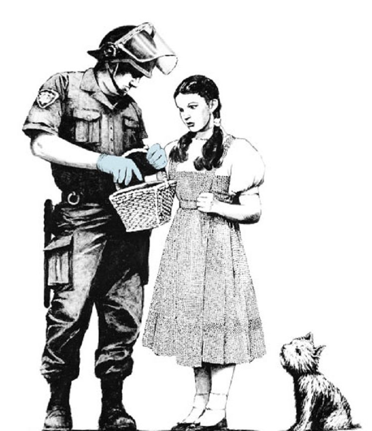 Banksy (b. 1974)  Stop and Search, 2007