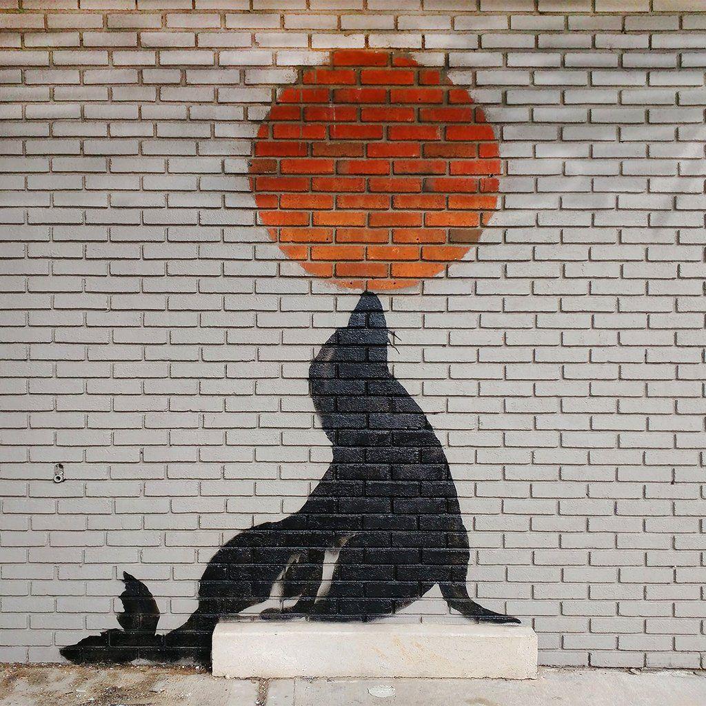 Banksy (b. 1974)  Seal Wall, 2018