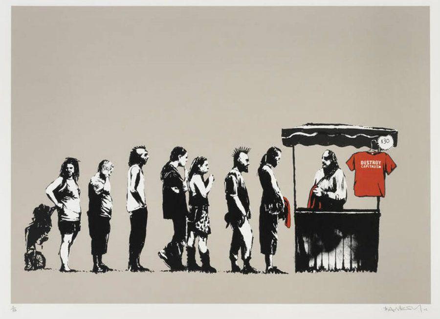 Banksy (b. 1974)  Festival, 2006