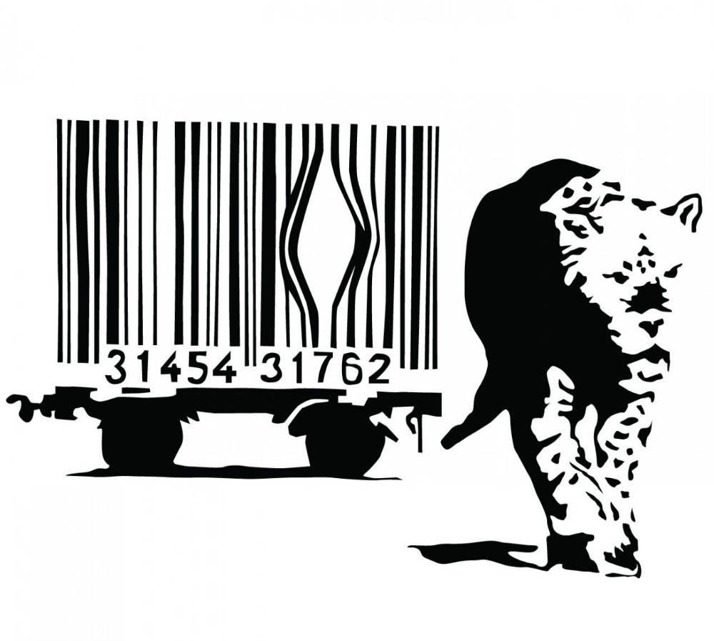 Banksy (b. 1974)  Barcode, 2004