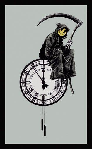 Banksy (b. 1974)  Grin Reaper, 2005