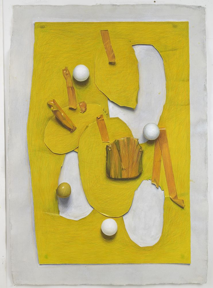 Neil Gall Yellow Cut-Out
