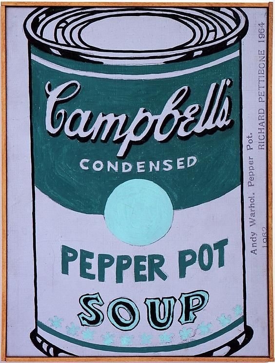 "Richard Pettibone Andy Warhol ""Pepper Pot. 1962."" (Green)"