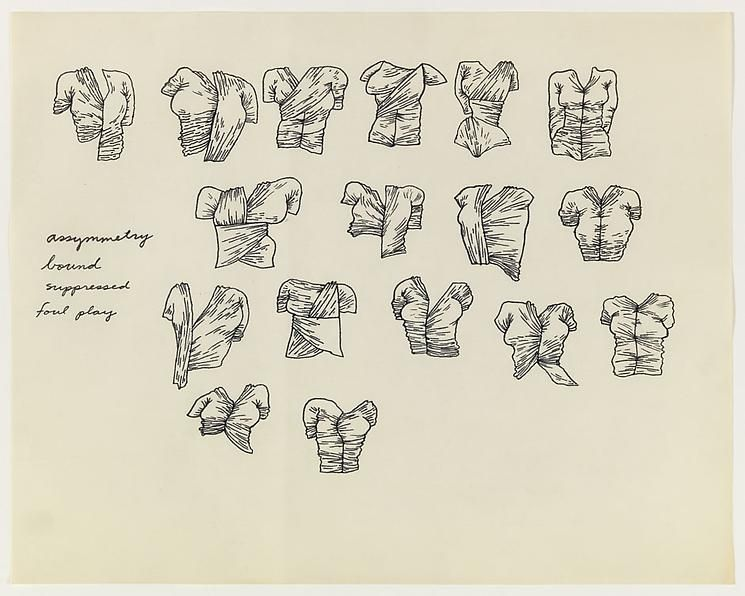 Christina Ramberg Untitled (Wrapped Torsos)