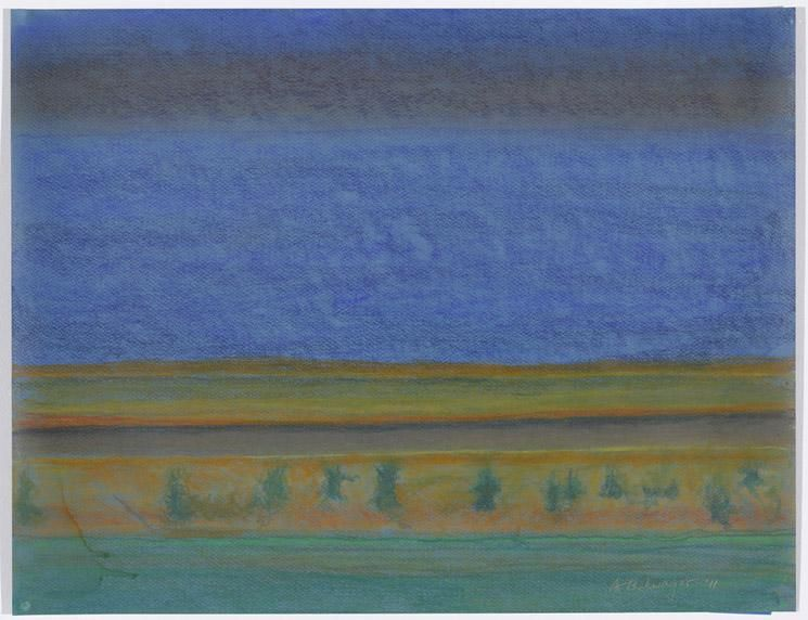 Richard Artschwager Landscape with River