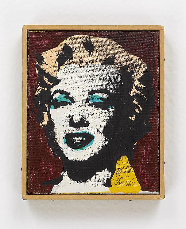 "Richard Pettibone Andy Warhol ""Marilyn Monroe (brown) 1962."" Signed by Andy Warhol"