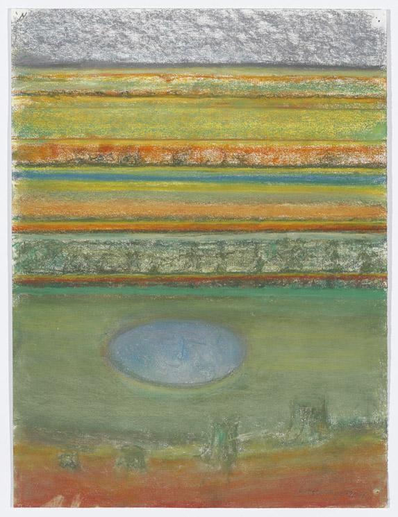 Richard Artschwager Landscape with Round Pond