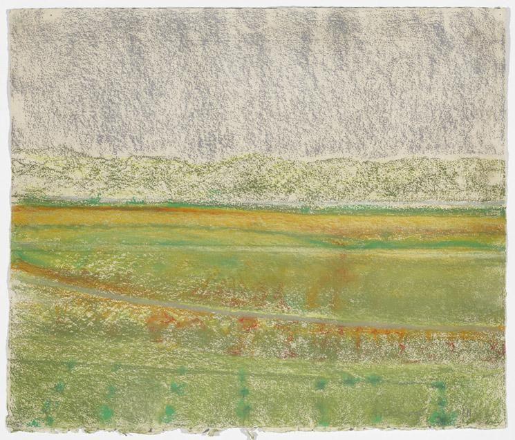 Richard Artschwager Landscape with Grey Sky