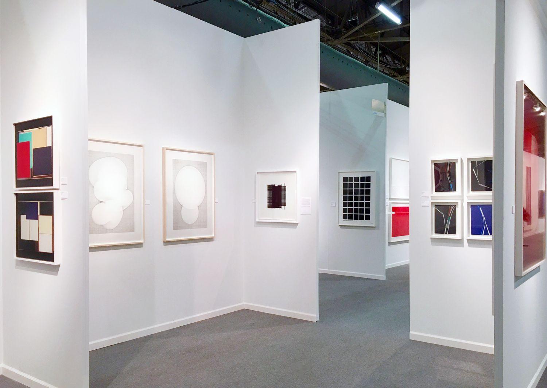 Art New York 2016 Booth B22 installation