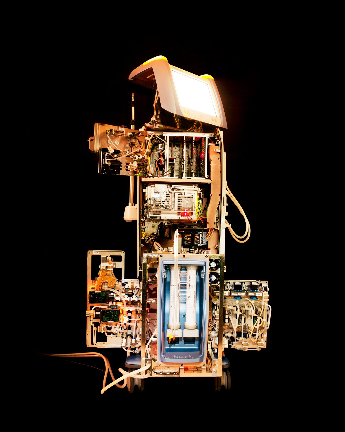 Reiner Riedler, Livesaving Machines, Artis, Dialysis Machine, 2012, Sous Les Etoiles Gallery
