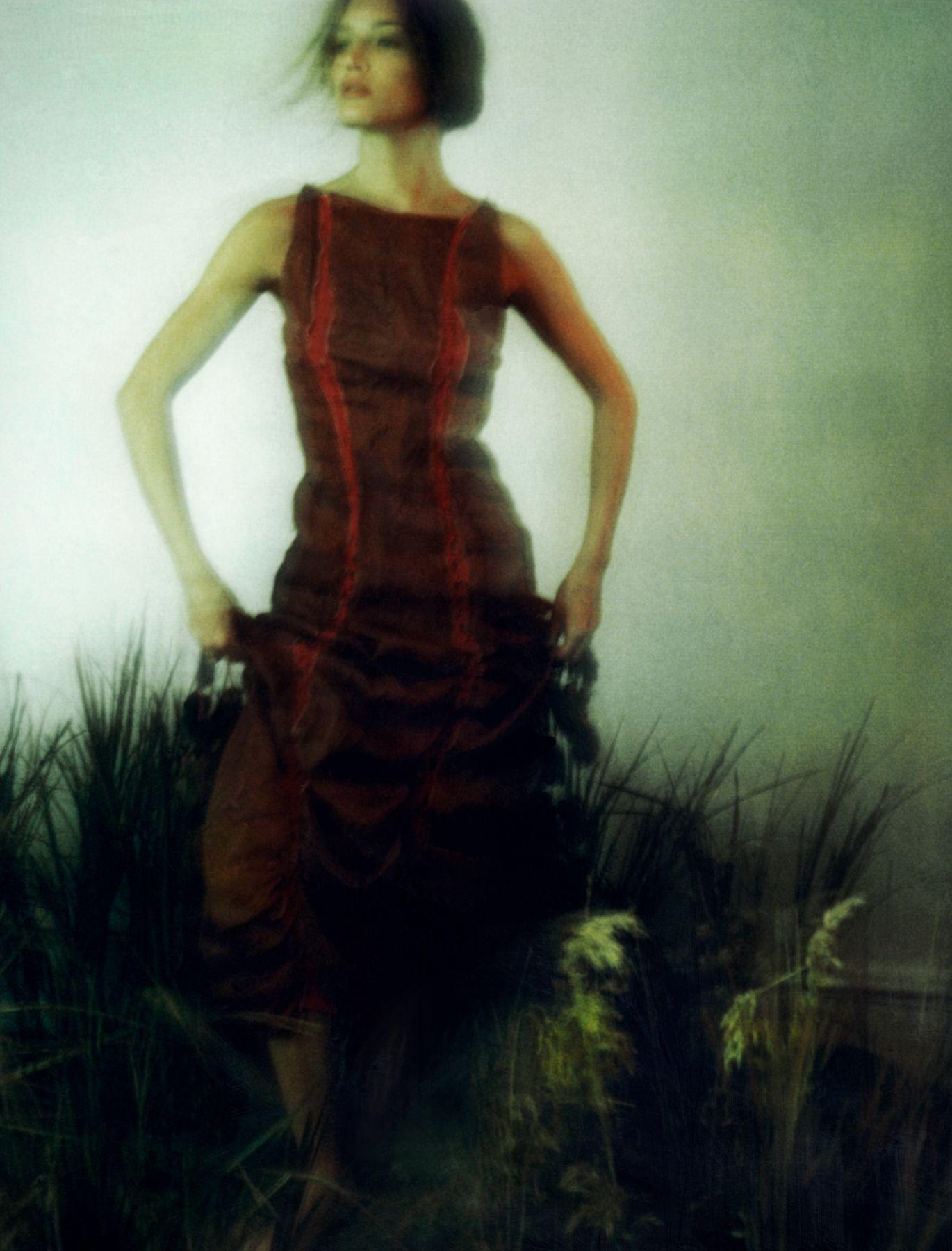 Patrick de Warren, Awoken Dream, Girl in Field 3, 2000, Sous Les Etoiles Gallery