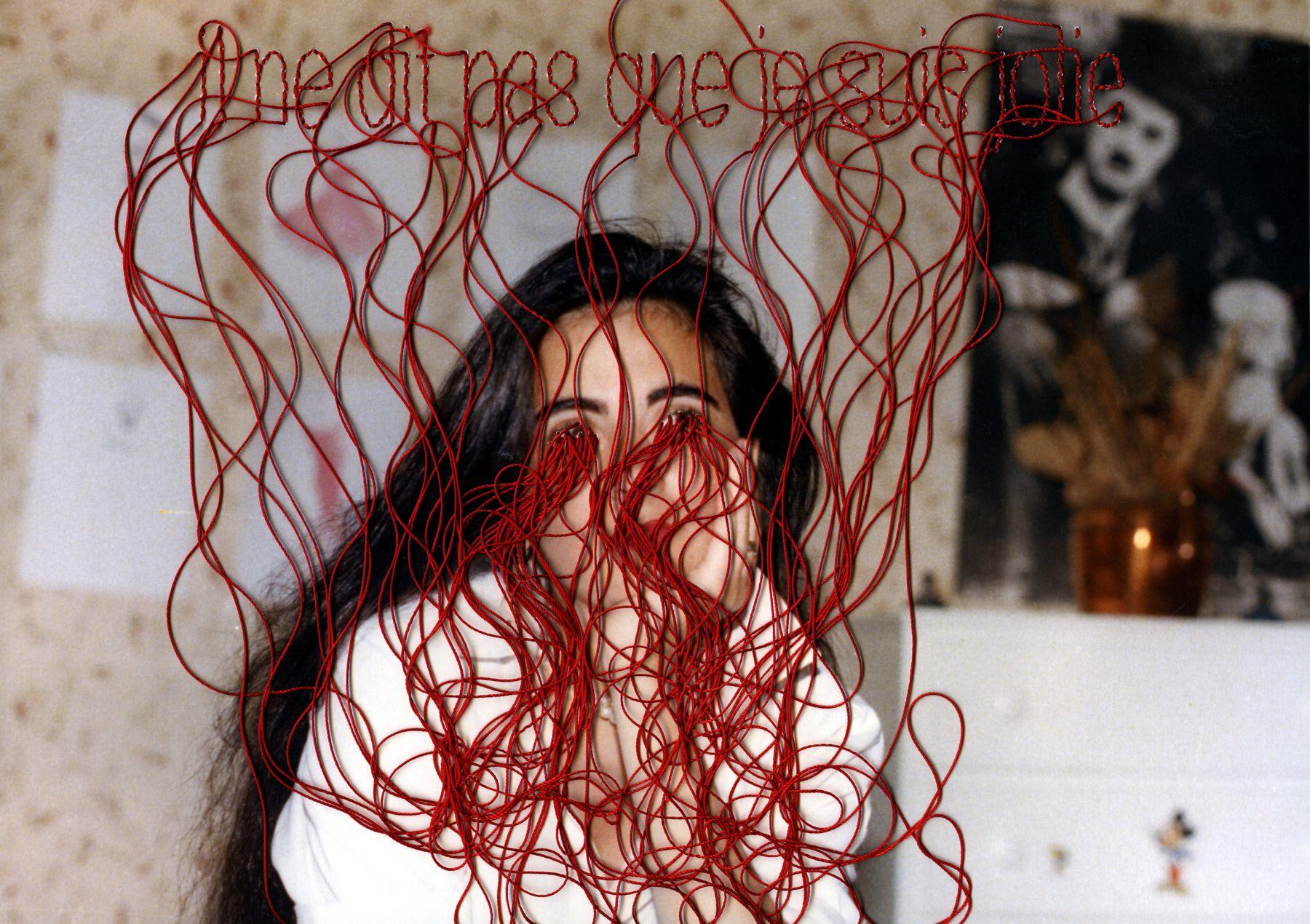 Carolle Bénitah, Photos-Souvenirs, Adolescence, il ne dit pas (he doesn't say), 2012, Sous Les Etoiles Gallery