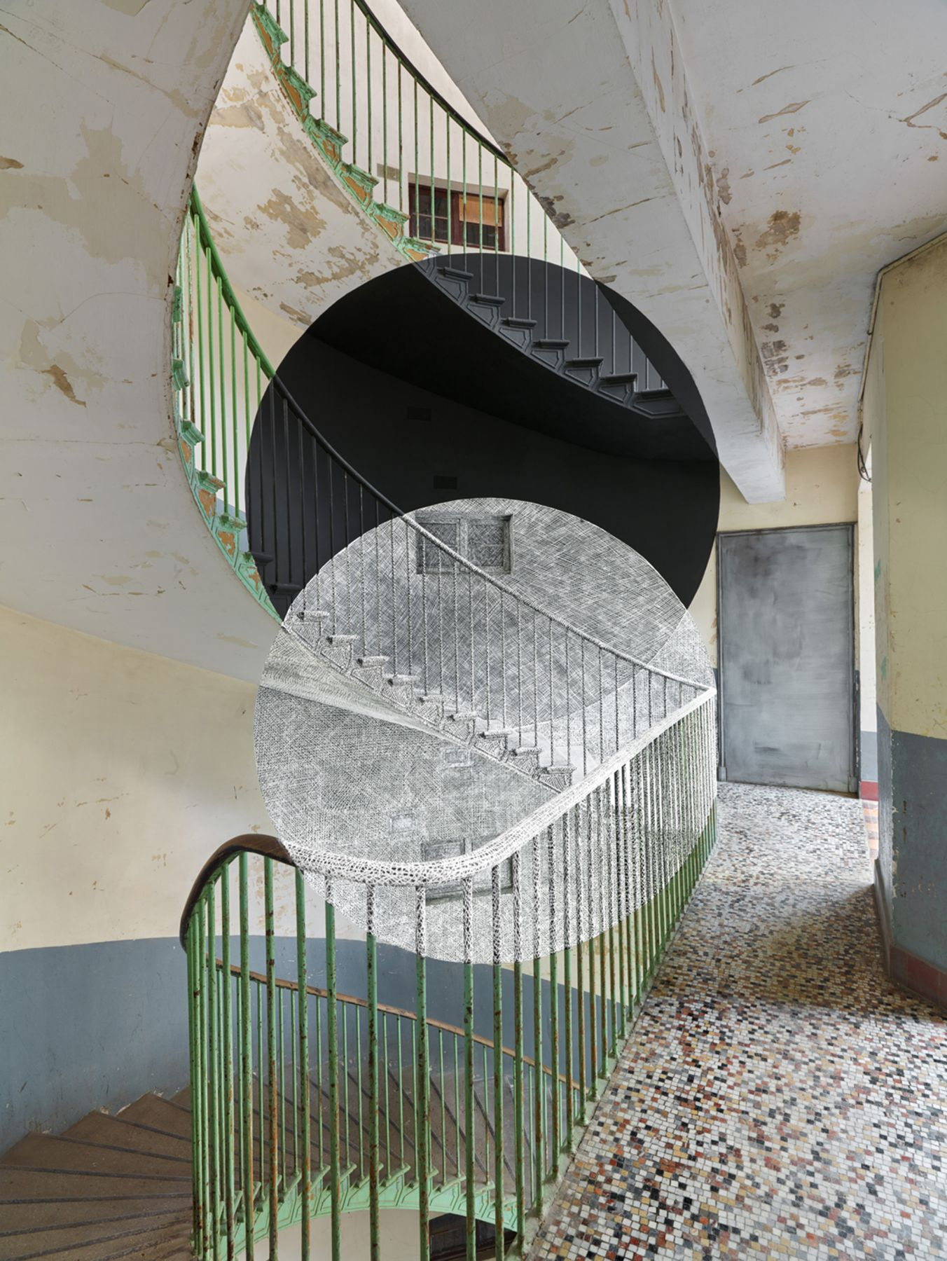 Georges Rousse, Guise, 2015, Sous Les Etoiles Gallery