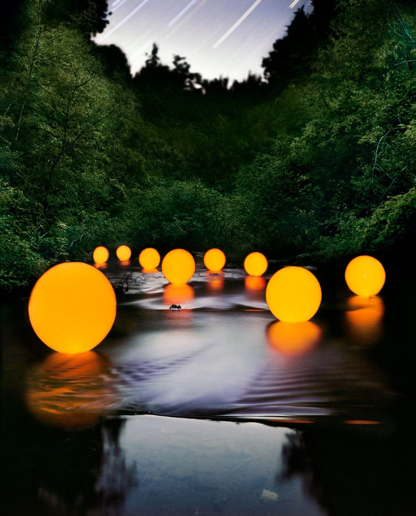 Barry Underwood, Scenes, Stream (Orange), 2009, Sous Les Etoiles Gallery