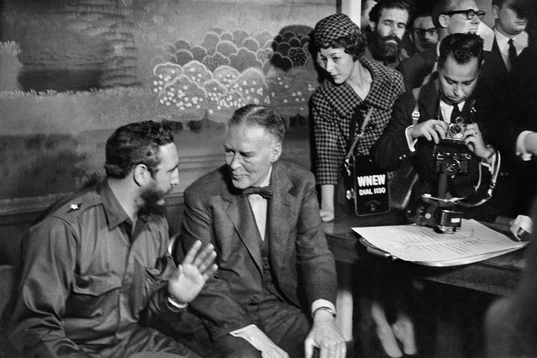Alberto Korda, Fidel Castro and Acting Secretary of State Christian Herter, Washington, Thursday, April 16, 1959, Sous Les Etoiles Gallery