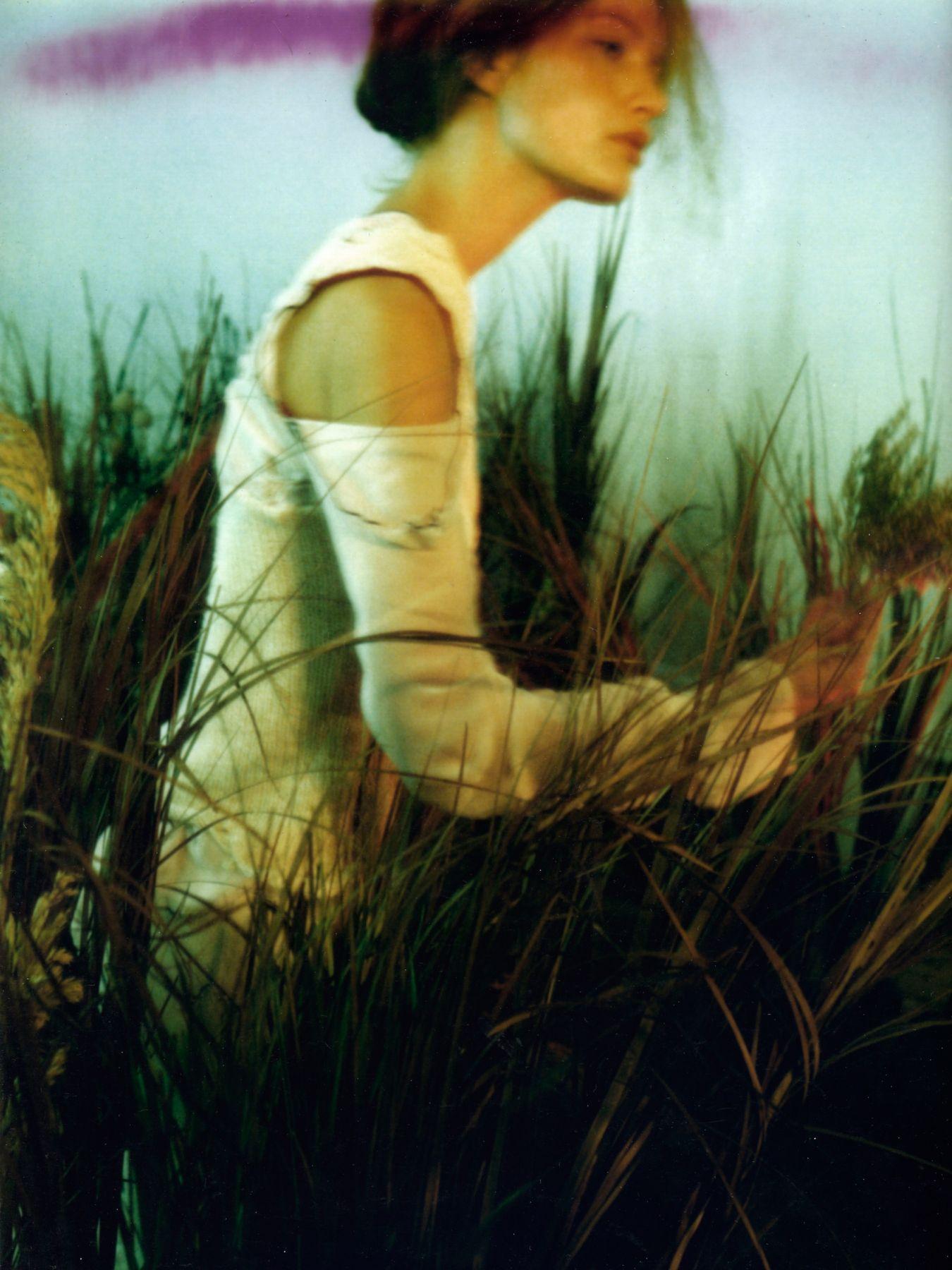 Patrick de Warren, Awoken Dream, Girl in Field 2, 2000, Sous Les Etoiles Gallery