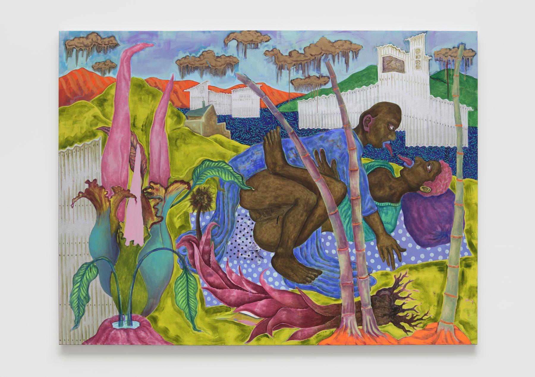 Simphiwe Ndzube Installation Gallery Nicodim Art Painting Stevenson