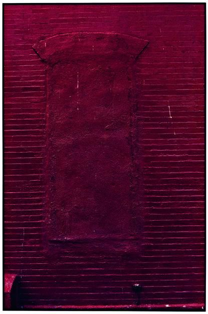 "ALT=""Zoe Leonard, Red Wall, 2001/2003, Dye Transfer print"""