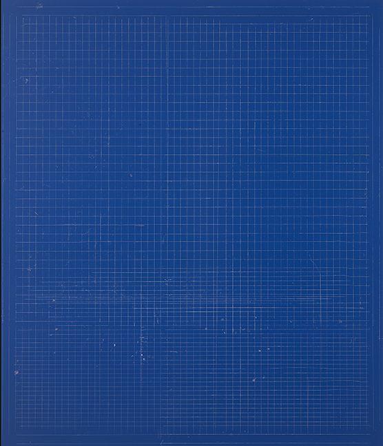 "ALT=""Kate Shepherd, Wound, 2016, Etching ink and enamel on wood panel"""