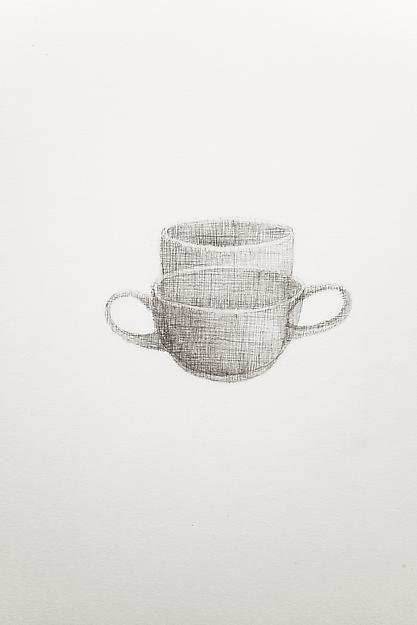 A Drawing of a Heath Mug and a Heath Cup, 2013,