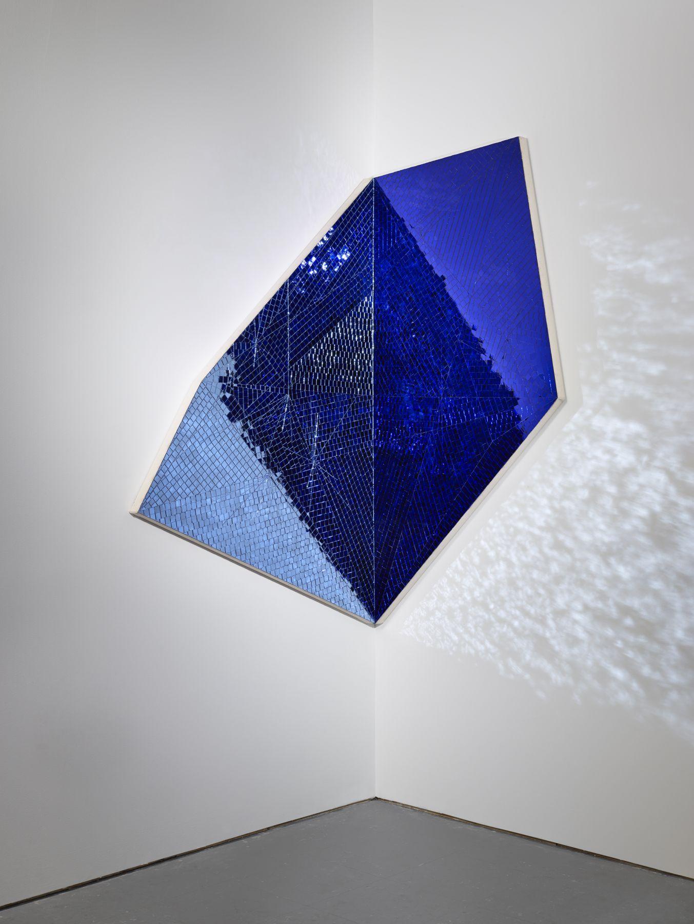 Jim Hodges, Toward Great Becoming (blue/blue), 2014