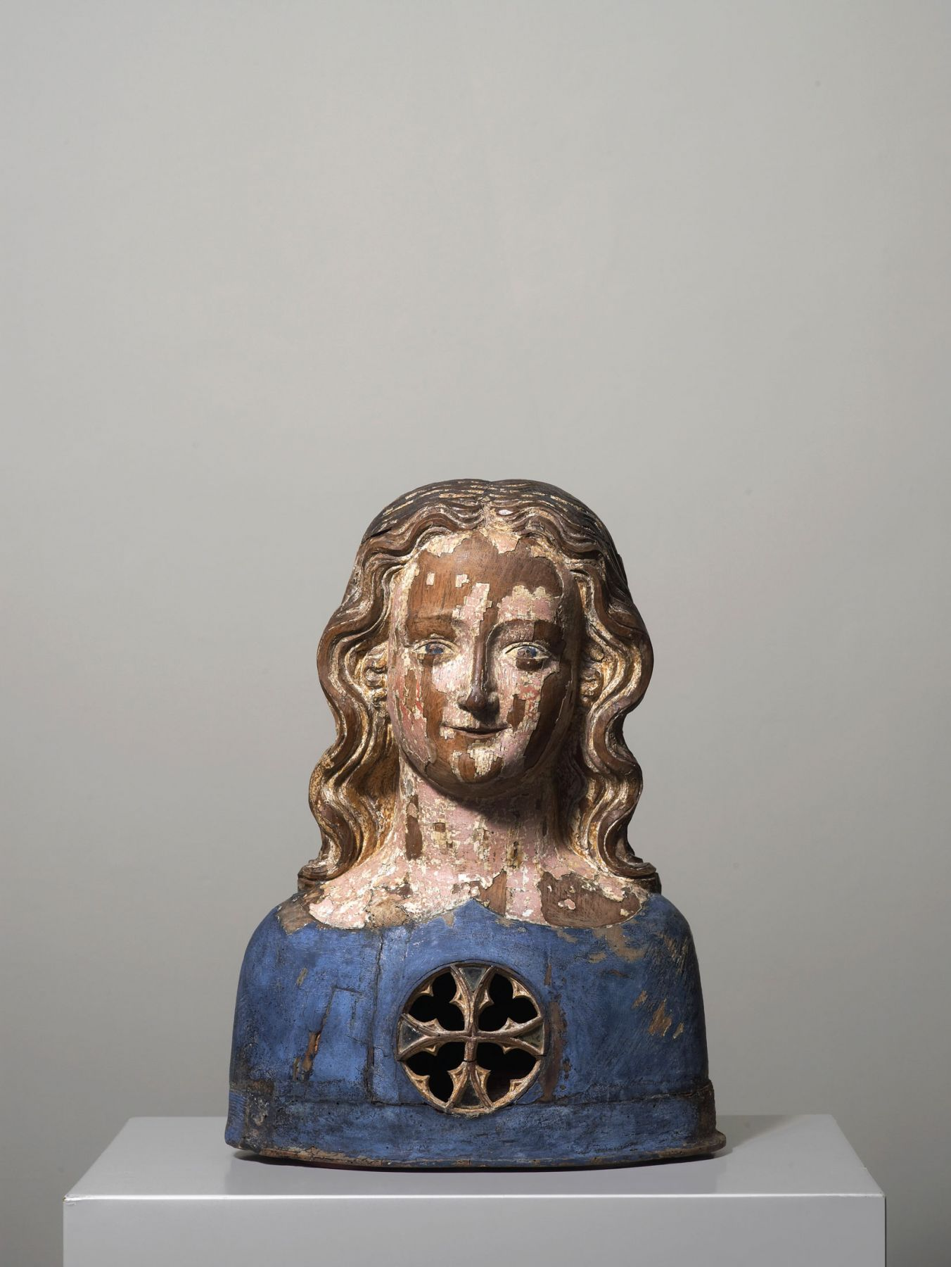 A reliquary bust of one of the 11,000 Virgins, Cologne,Germany