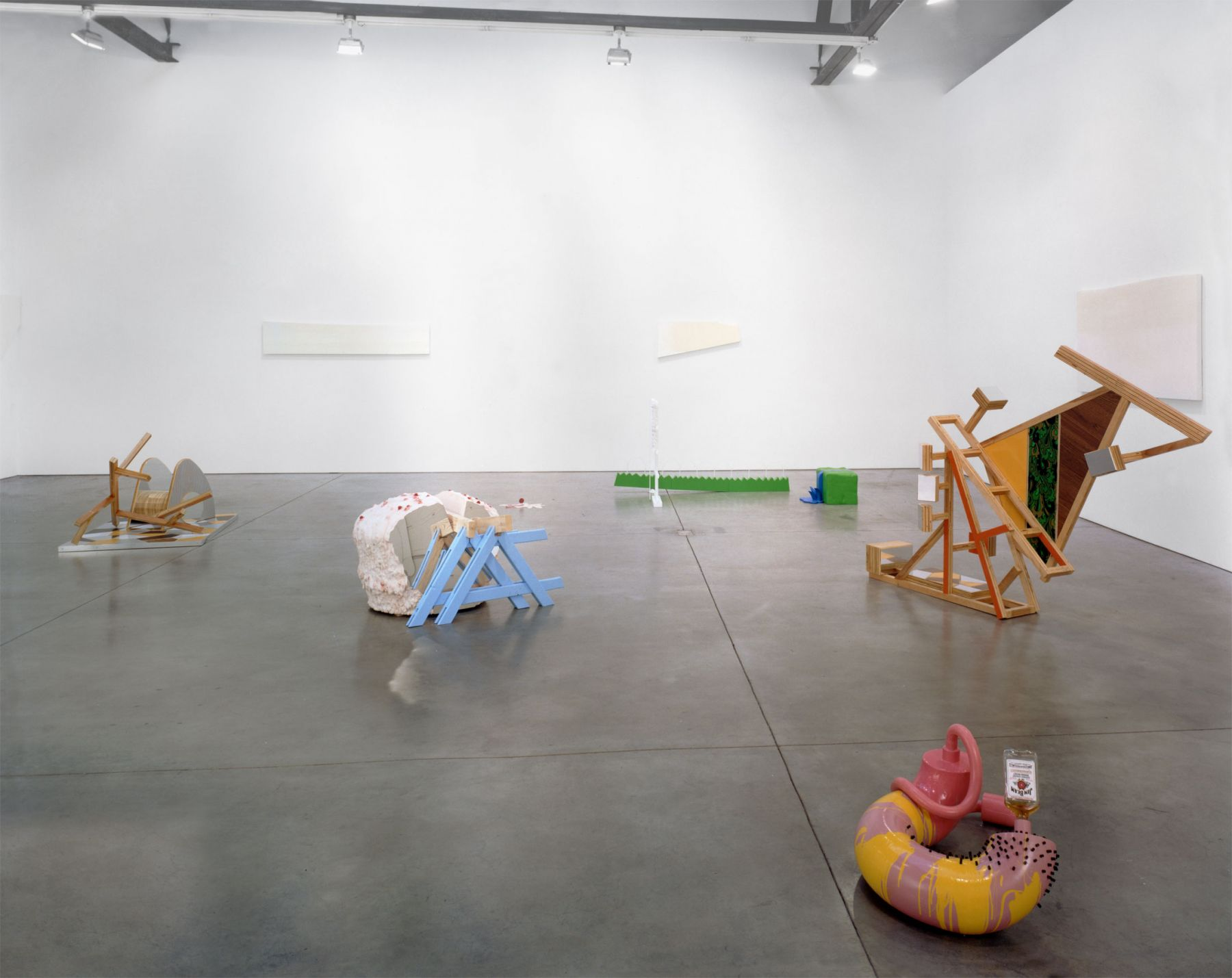 New Slang: Emerging Voices in Sculpture, Installation view