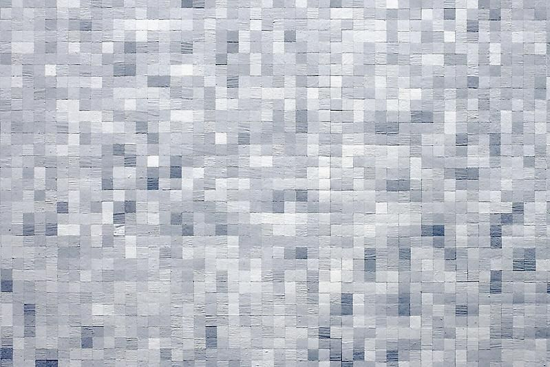 Tom Friedman, Untitled (pixelated static), 2012