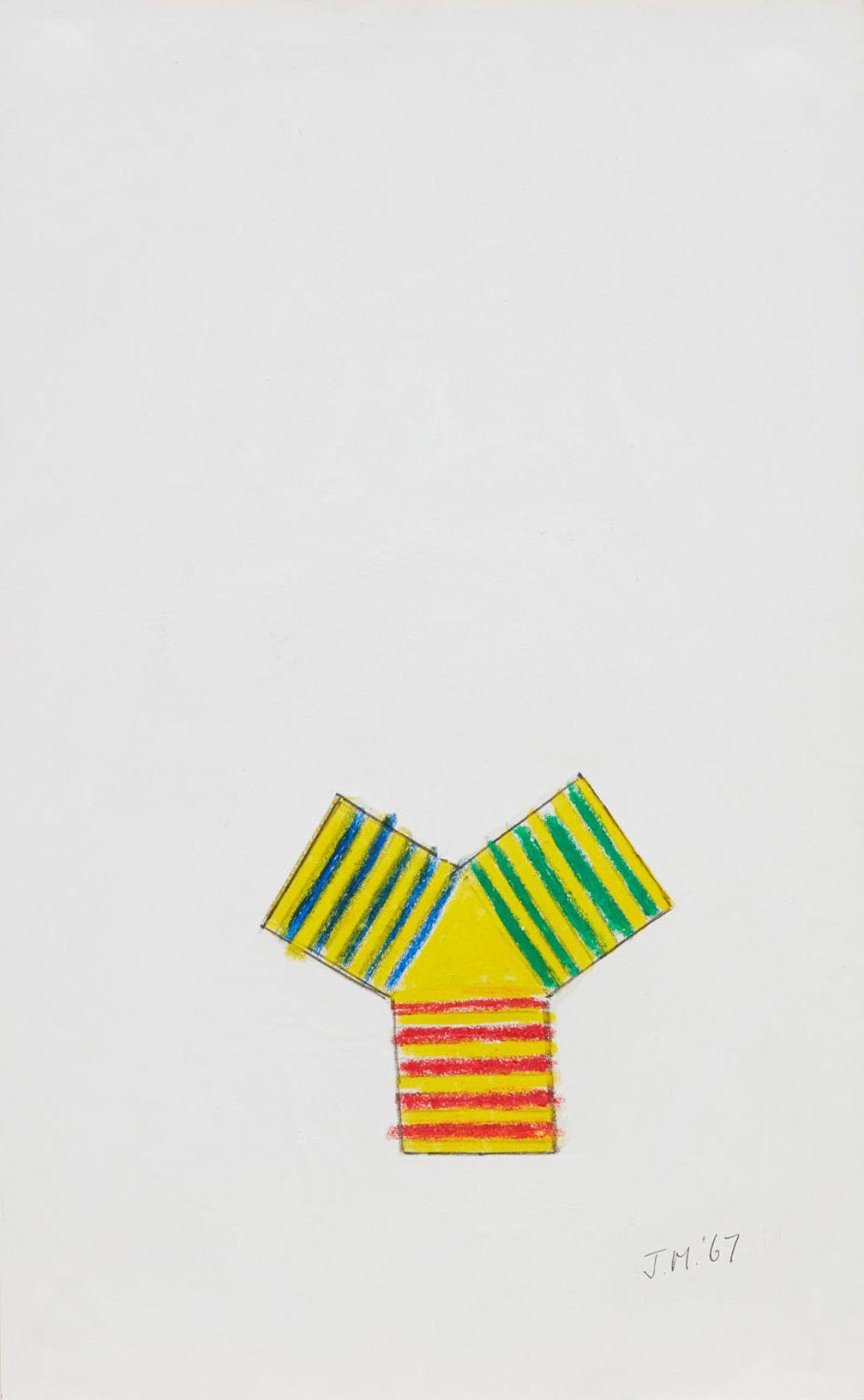 Jeremy Moon, Drawing [67],1967